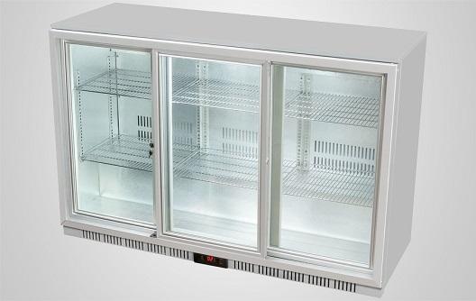 Back Bar Refrigerator Sliding Door Procool Refrigeration