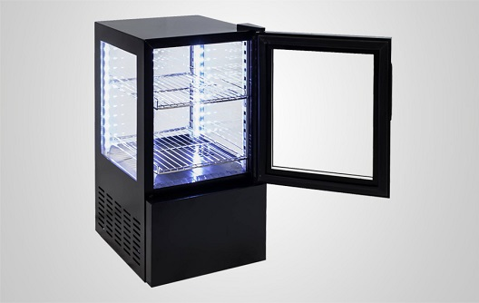 All Glass Fridge For Drink Food Display Procool