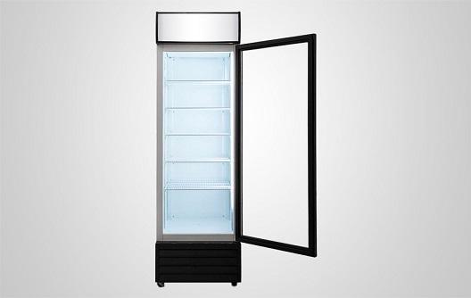 Beverage Cooler Single Glass Door For Drink Procool