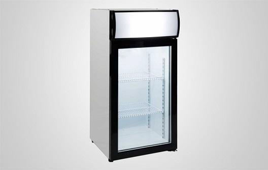 Mini Glass Door Freezer For Ice Cream And Food Procool