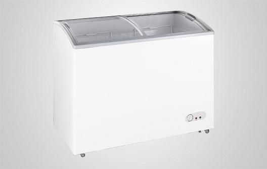 Display Chest Freezer With Sliding Glass Door Procool