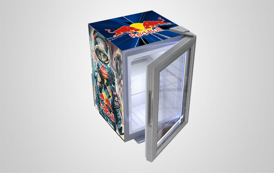 Red Bull Kühlschrank Promotion : Red bull fridge we can customize your logo procool
