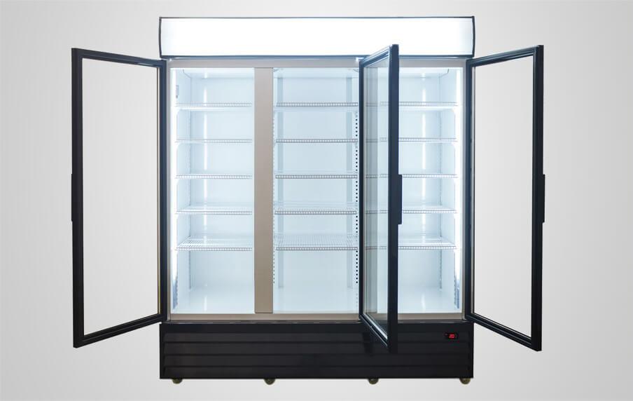 3 Door Commercial Refrigerator For Kitchen Or Supermarket