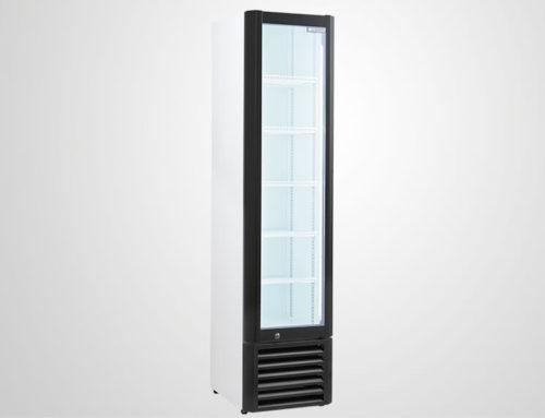 Narrow Drinks Fridge With Glass Door For Display Procool